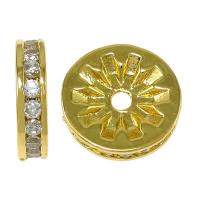 Рондель-спейсер Новый 10мм, цвет золото