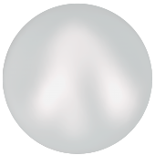 10 бусин Crystal  Iridescent Dove Grey Pearl